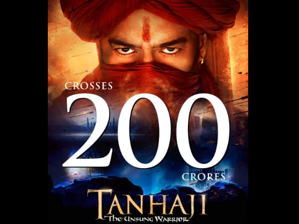 """""""तान्हाजी"""" DAY 15 बॉक्स ऑफिस: अजय देवगन की 200 करोड़ क्लब में धमाकेदार एंट्री"""