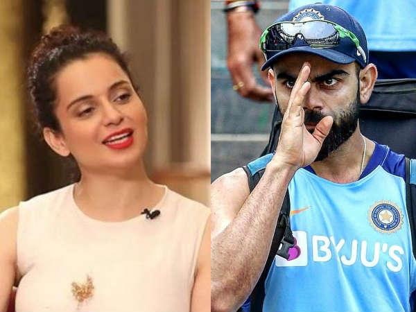 """कंगना रनौत ने विराट कोहली को बताया टीम इंडिया का """"पंगा किंग"""", जानें क्यों!"""
