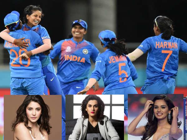 IndvAus- महिला क्रिकेट टीम ने ऑस्ट्रेलिया को चटाई धूल- तापसी, अनुष्का और मानुषी ने दी बधाई