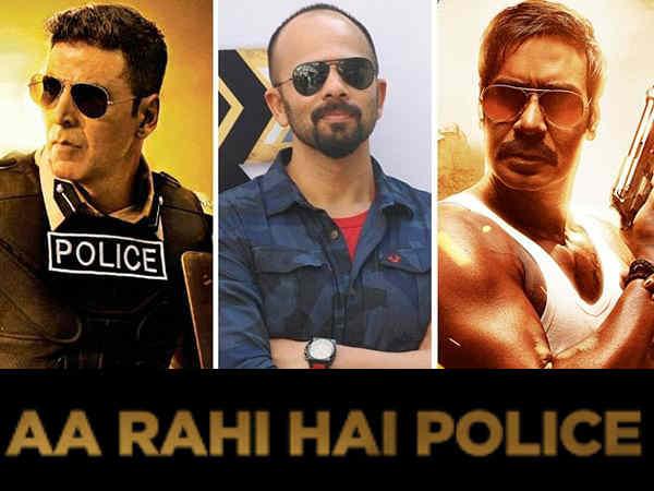 रोहित शेट्टी का सबसे बड़ा धमाका - सूर्यवंशी अक्षय और सिंघम अजय देवगन, दो शानदार हीरो, एक फिल्म!