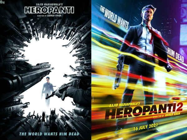 First LOOK: टाइगर श्राफ की 'हीरोपंती 2'- धमाकेदार पोस्टर और रिलीज डेट के साथ हुई घोषणा