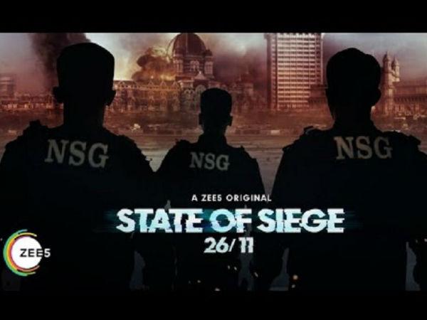 26 /11 का एक अलग चेहरा सामने लाएगा 'स्टेट ऑफ सीज: 26 /11, जी5 की दमदार सीरीज