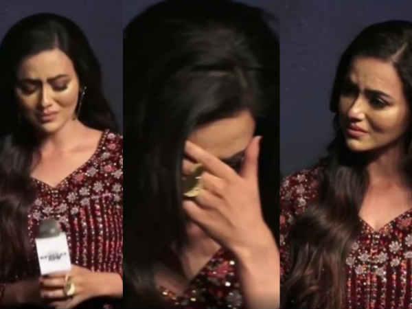 इवेंट पर भावुक हो कर रो पड़ीं सना खान, स्पेशल ऑप्स का ट्रेलर लॉन्च, मुश्किल वक्त से गुज़रीं