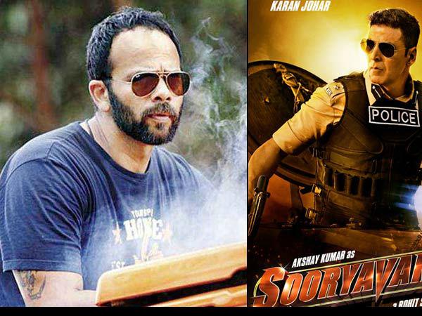 Video अक्षय कुमार की Sooryavanshi का खतरनाक हेलीकॉप्टर स्टंट, रोहित शेट्टी के साथ