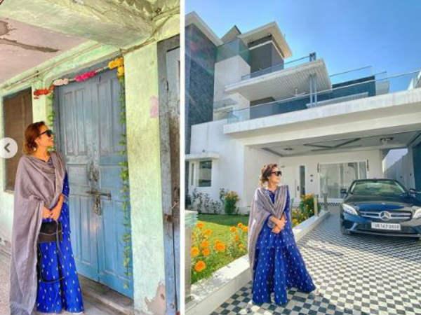 इस घर में पैदा हुईं थीं नेहा कक्कड़- अपने बंगले के साथ पोस्ट की तस्वीर और हो गईं इमोशनल