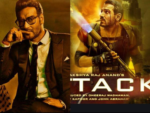 अजय देवगन की 'भुज' का जॉन अब्राहम की 'अटैक' से भयंकर कलैश- इन फिल्मों का भी तगड़ा मुकाबला