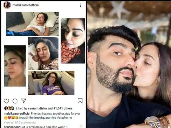 'सोते हुए कौन हंसता है'- मलाइका अरोड़ा को अर्जुन कपूर ने किया ट्रोल, गर्लफ्रेंड ने दिया तीखा जवाब