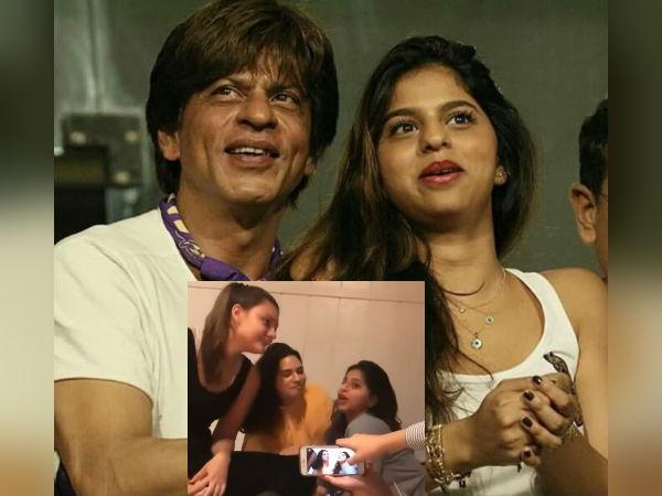 शाहरुख खान की बेटी सुहाना खान का वीडियो वायरल- गर्ल गैंग के साथ हो रही है मस्ती