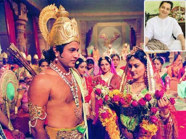 मैं रोज़ दूरदर्शन पर रामायण देख रही हैं, जल्दी ही इस पर फिल्म बनानी है - कंगना रनौत