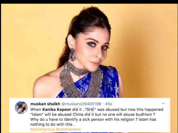 कनिका कपूर कोरोना क्रिमिनल Vs तबलीगी जमात का कोरोना जिहाद -ट्वविटर पर हिंदु - मुस्लिम कोरोना बंटवारा
