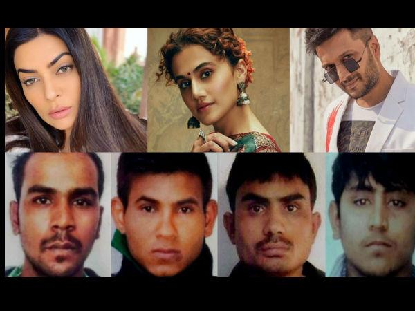 निर्भया के दोषियों को फांसी, बॅालीवुड स्टार्स बोले- जैसी करनी वैसी भरनी, रेप की सजा मौत है