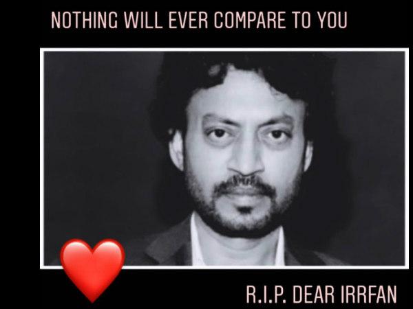फैंस के लिए इरफान खान का आखिरी संदेश-