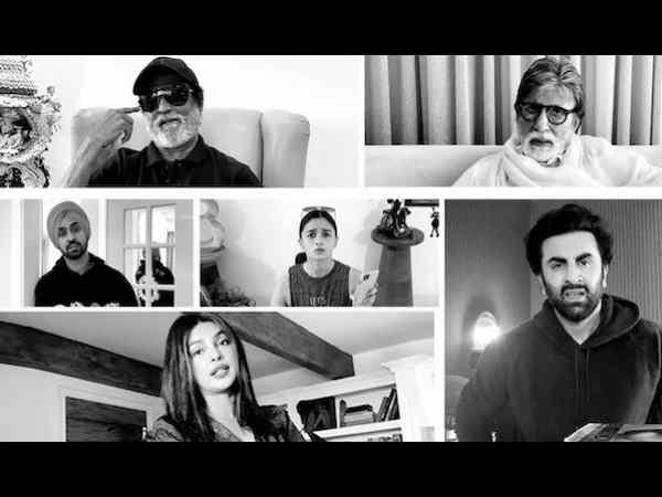 अमिताभ बच्चन का चश्मा खोया - रजनीकांत, चिरंजीवी, रणबीर, आलिया ने मिलकर ढूंढा, शानदार लॉकडाउन फिल्म