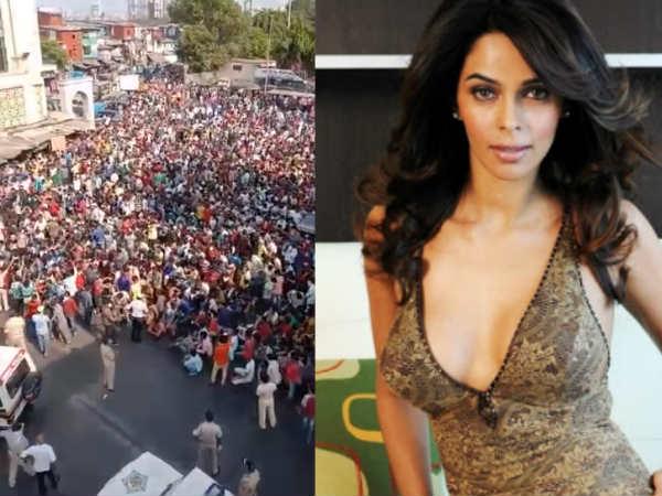 लॉकडाउन 2- मुंबई के बांद्रा रेलवे स्टेशन में जमा हुए हजारों लोग तो मल्लिका शेरावत ने बोल डाली ये बात
