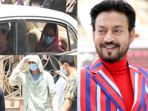 अस्पताल पहुंचा इरफान खान का परिवार- अंतिम संस्कार में सिर्फ 20 लोग- 5 बजे होंगे सुपुर्दे खाक!