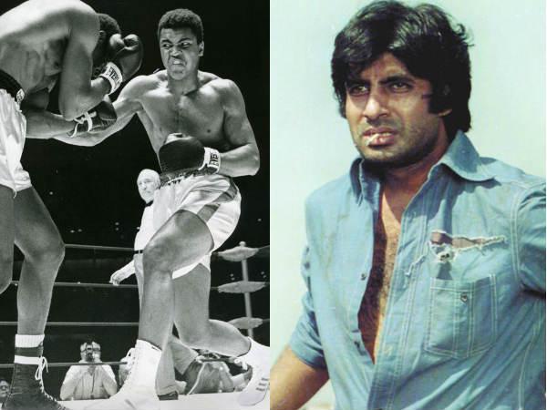 तो अमिताभ बच्चन और बॉक्सर मुहम्मद अली एक फिल्म में आते नजर- महानायक का खुलासा