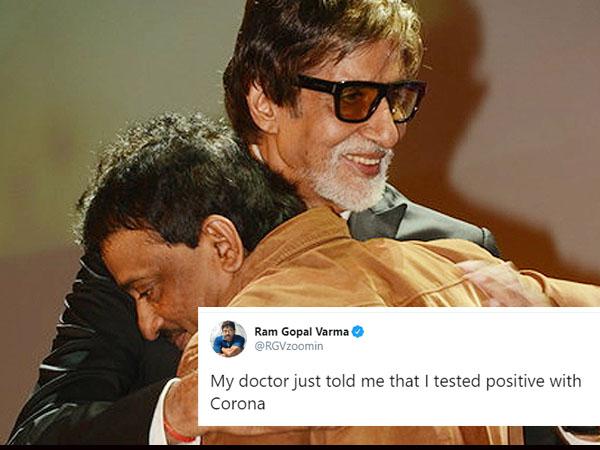 रामगोपाल वर्मा को CoronaVirus, रिपोर्ट आई सामने, ट्विटर पर खुद बताया- फैंस का रिएक्शन !