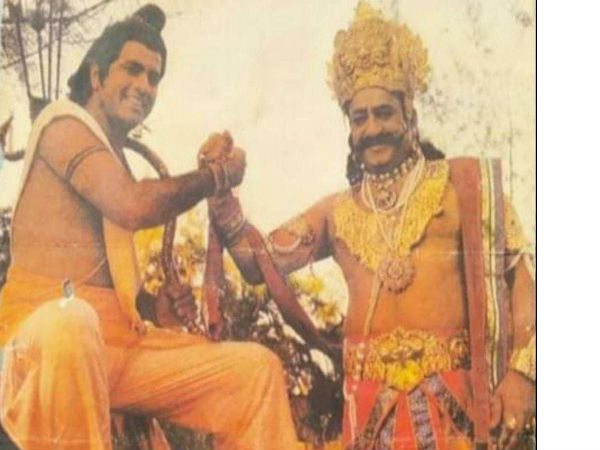 रावण के वध पर मना दशहरा, रामायण के एपिसोड में एडिट किए गए सीन ! राम-रावण की Rare तस्वीर