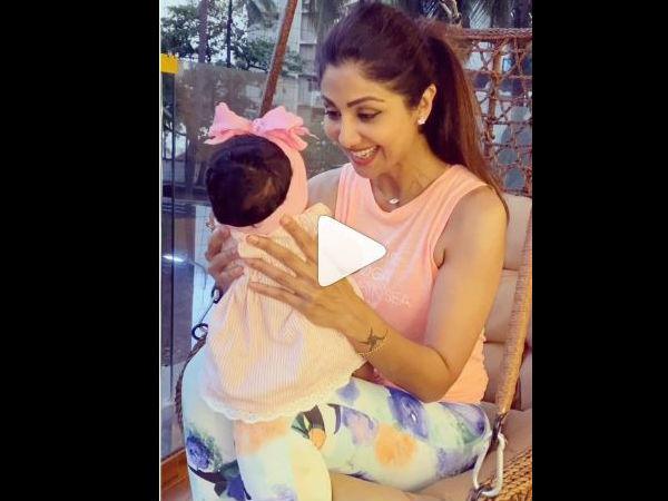शिल्पा शेट्टी की बेटी समीषा का पहला वीडियो, इंस्टाग्राम पर वायरल- बताया 15 नंबर क्यों लकी