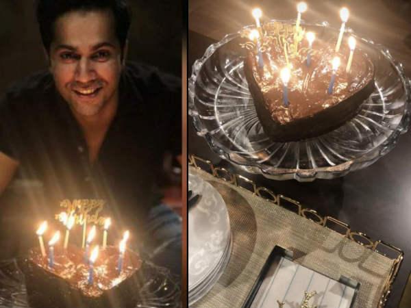 लॉकडाउन के बीच वरुण धवन ने फैमिली के साथ मनाया बर्थडे- केक के साथ खिंचाई फोटो- PICS