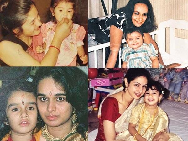 मदर्स डे: अनुष्का शर्मा, श्रद्धा कपूर समेत बॉलीवुड सेलेब्स का बचपन और उनकी प्यारी मां, RARE तस्वीरें