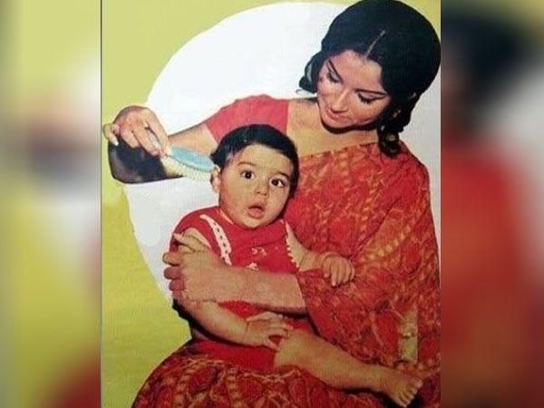 सैफ अली खान की मां शर्मिला टेगौर की फोटो