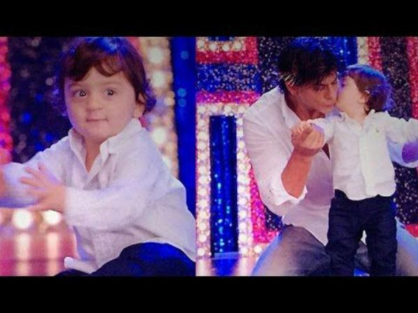 शाहरुख खान के बेटे अबराम का बॉलीवुड डेब्यू, इस गाने में पापा के साथ किया था डांस-VIDEO