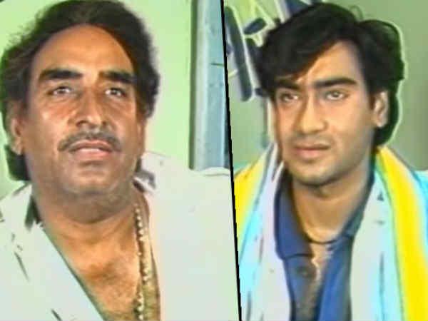 अजय देवगन को भीड़ की मार से बचाने के लिए पिता वीरू देवगन लाए थे 150 स्टंटमैन, मज़ेदार किस्सा
