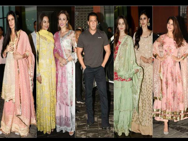 सलमान खान की ईद पार्टी: जैकलीन, कैटरीना कैफ से सोनाक्षी सिन्हा, बॉलीवुड हसीनाओं का जमावड़ा, तस्वीरें