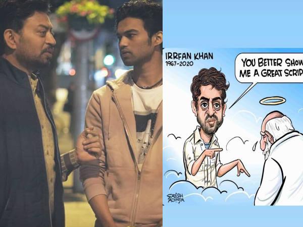 इरफान खान फरिश्तों से अच्छी स्क्रिप्ट मांग रहे हैं- बेटे बाबिल खान ने साझा किया इमोशनल मीम