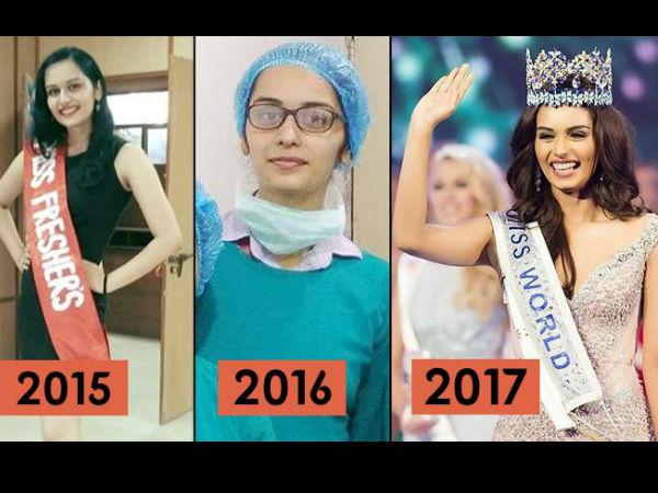 बर्थडे: CBSE टॉपर, MBBS फिर मिस इंडिया से मिस वर्ल्ड तक मानुषी छिल्लर का सफर, RARE तस्वीरें