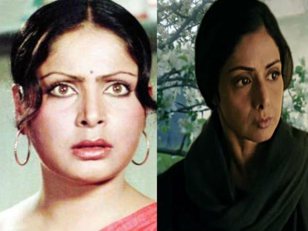 करण-अर्जुन में राखी और मॉम फिल्म में श्रीदेवी