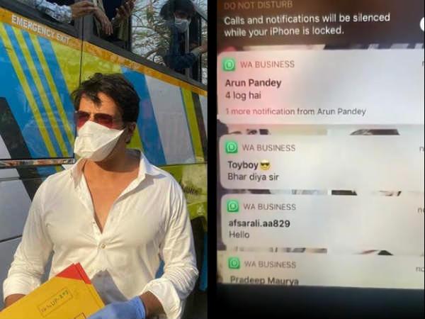 सोनू सूद ने शेयर किया वीडियो, फोन पर ऐसे धड़ाधड़ आ रहे हैं मदद के लिए मैसेज- देखकर हैरान रह जाएंगे