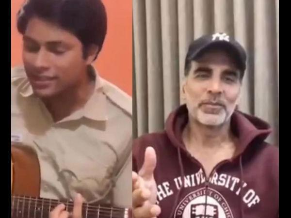 दिल्ली पुलिस कॉन्सटेबल ने गाया 'तेरी मिट्टी' सॉन्ग- अक्षय कुमार का रिएक्शन दिल जीत लेगा