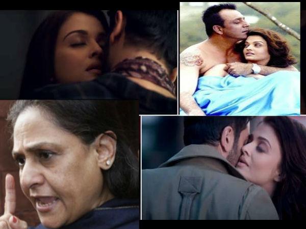 ऐश्वर्या राय ने इन फिल्मों में दिए बोल्ड सीन्स, बहू के इंटीमेट सीन पर भड़क गई थीं जया बच्चन !