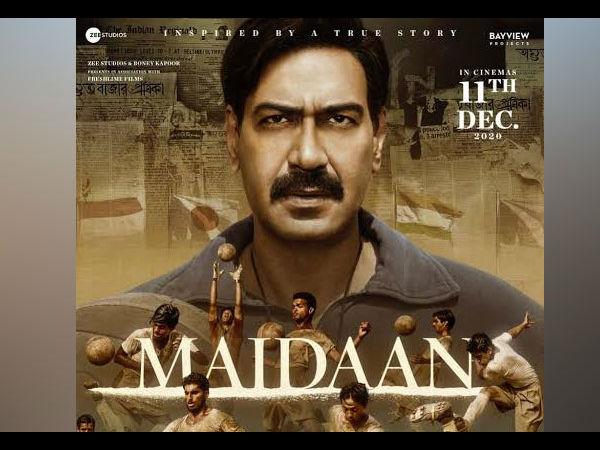 अजय देवगन की 'मैदान' को लेकर प्रोड्यूसर बोनी कपूर का बड़ा ऐलान, जानें रिलीज के बारे में कंफर्म डिटेल