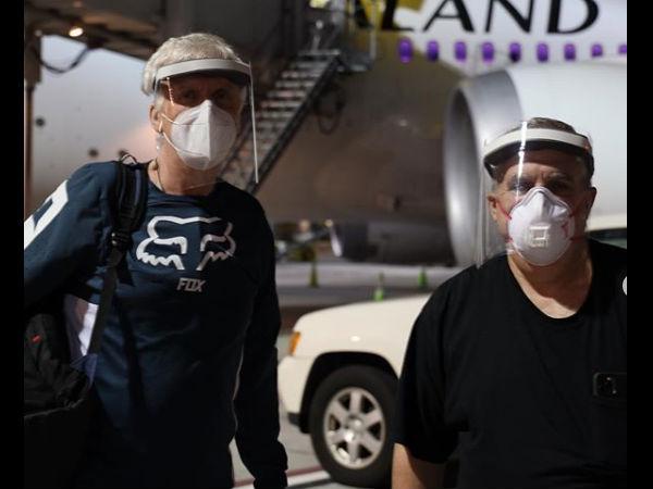 कोरोना महामारी के बीच शूटिंग करने न्यूजीलैंड पहुंची फिल्म अवतार 2 की टीम | Avatar 2 crew fly in to New Zealand for shooting amid corona pandemic