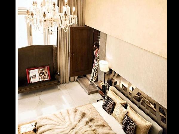 शाहरुख खान का बेडरूम