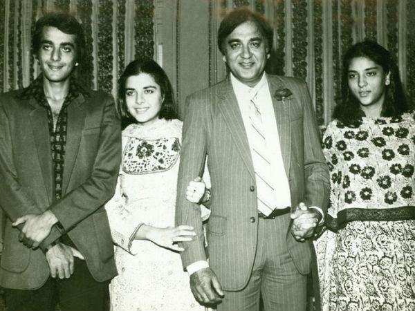 बेटे की पहली फिल्म नरगिस को नहीं दिखा पाए थे सुनील दत्त