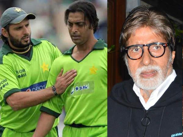पाकिस्तानी क्रिकेटर शोएब अख्तर और शाहिद आफरीदी ने अमिताभ बच्चन के लिए की दुआ- ट्वीट वायरल