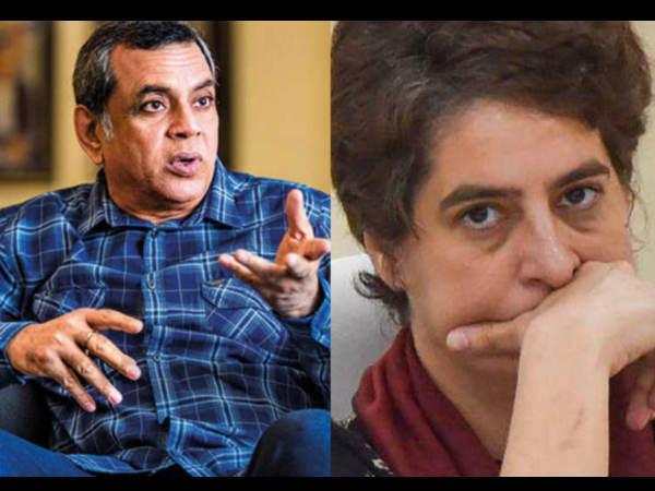 'पोती ने दादी की नाक कटवा दी'- अभिनेता परेश रावल ने प्रियंका गांधी पर इसलिए कसा तंज