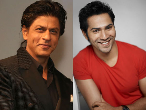 शाहरुख खान की फिल्म में काम करेंगे वरुण धवन | Shahrukh Khan to join hands with Varun Dhawan to star as the lead in one of his productions?