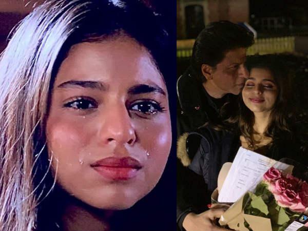 रोती हुई नजर आईं शाहरुख खान के बेटी सुहाना खान- जानिए क्या है पूरी बात
