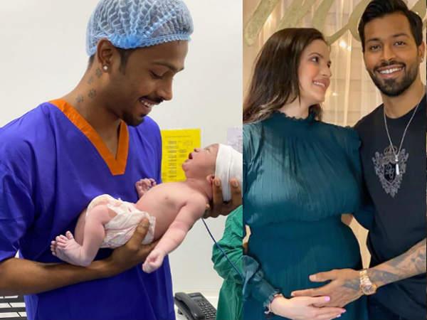 नताशा और हार्दिक पांड्या के बेटे की शानदार झलक- पिता की गोद में नजर आया बेबी बॉय