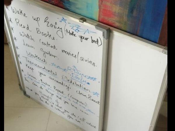 सुशांत सिंह राजपूत कर रहे थे 29 जून की प्लानिंग, बहन श्वेता ने शेयर किया भाई का व्हाइट बोर्ड, देखिए