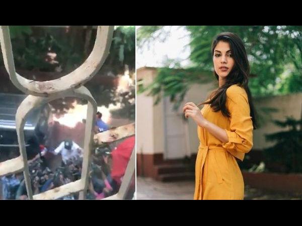 राहत: मुंबई पुलिस ने दी रिया चक्रवर्ती को सुरक्षा,CBI की दूसरे दिन भी पूछताछ जारी