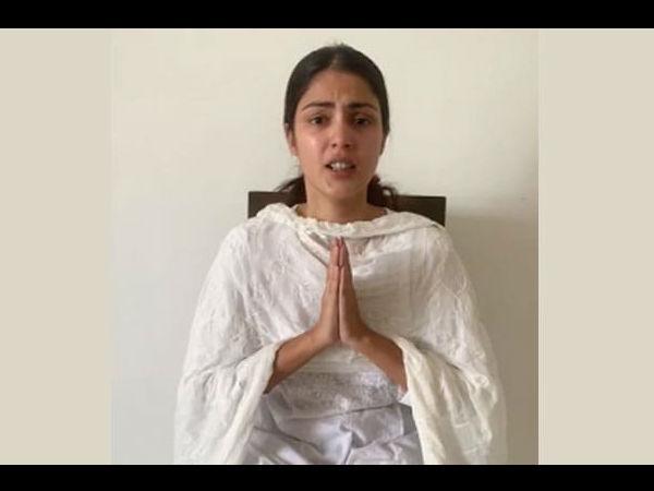 """सुशांत सुसाइड केस में रिया चक्रवर्ती का सुप्रीम कोर्ट में नया हलफनामा-""""मीडिया मुझे ठहरा रही दोषी"""""""
