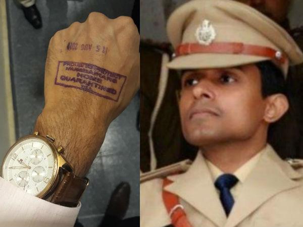 सुशांत केस-'IPS विनय तिवारी को मुंबई में जबरदस्ती क्वारंटीन किया गया',बिहार के DGP हुए नाराज, वीडियो