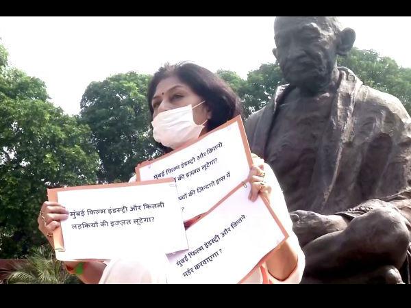 मुंबई फिल्म इंडस्ट्री कितने मर्डर कराएगी? उन्हें ड्रग एडिक्ट बनाती है,लड़कियों की इज्जत लूटेगी?