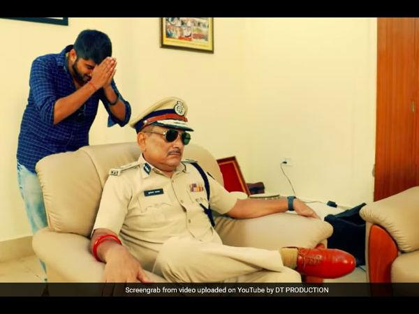 बिहार के पूर्व DGP गुप्तेश्वर पांडे के साथ बिग बॉस फेम दीपक ठाकुर आए नजर, धड़ल्ले से वीडियो वायरल